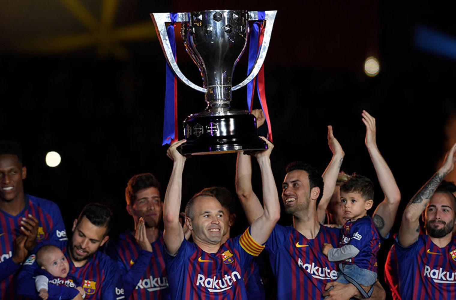 Футбол испании сезон 19