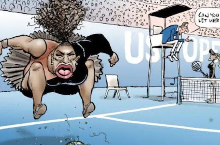 Газета не согласна, что её карикатура Уильямс - расистская