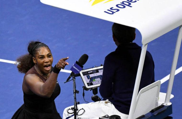 Что сказала Серена Уильямс о скандале на US Open