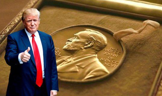 Букмекеры: Трамп может получить Нобелевскую премию вместе с Ким Чен Ыном