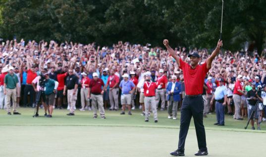Вудс одержал первую победу за последние пять лет