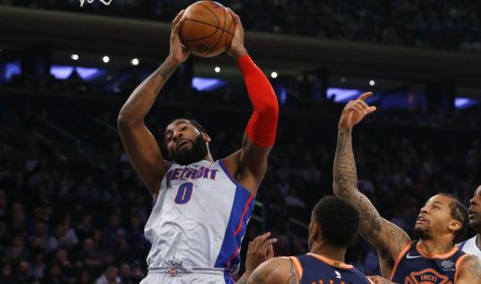 Прогноз букмекеров: лучшим по подборам в НБА сезона-2018/19 станет Драммонд