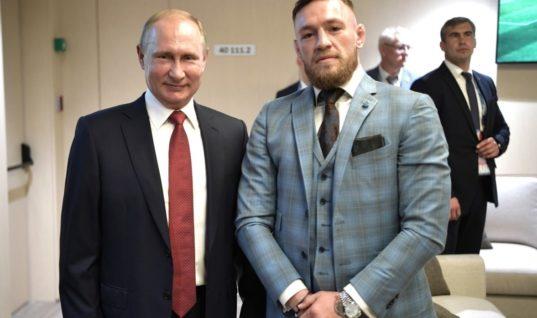 Путина и Трампа пригласили на бой Макгрегора с Нурмагомедовым