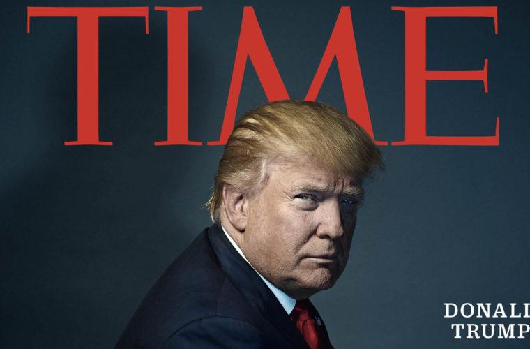 Прогноз букмекеров: Дональд Трамп станет человеком 2018 года по версии журнала Time