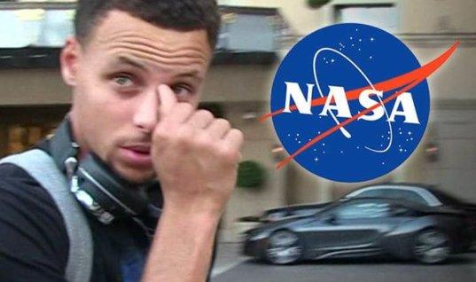 НАСА докажет Карри, что американцы были на Луне