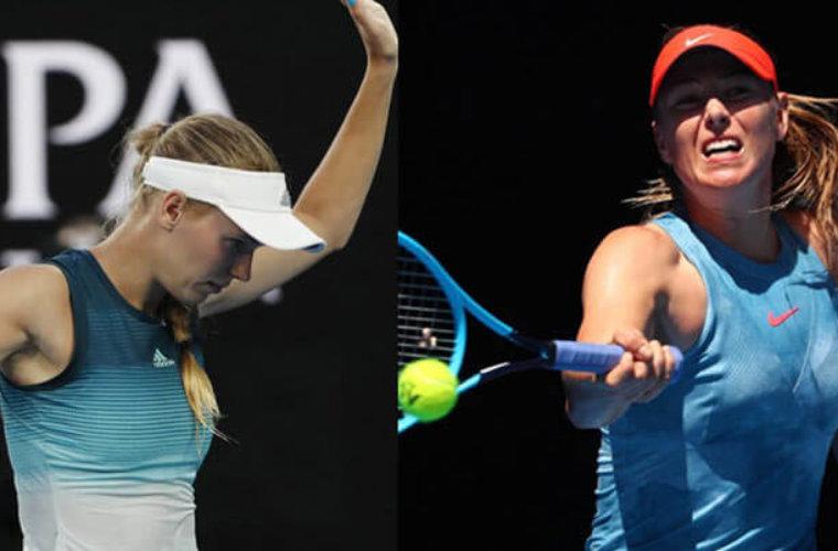 Прогноз букмекеров на матч Australian Open-2019 Мария Шарапова – Каролина Возняцки