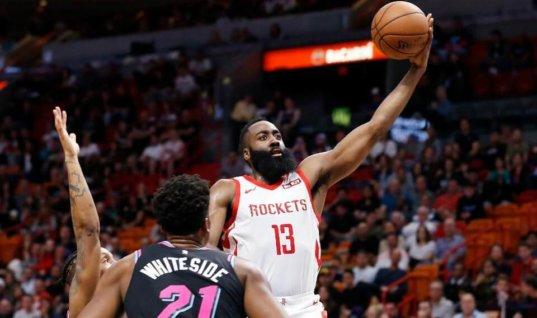 Харден - фаворит в борьбе за звание MVP НБА