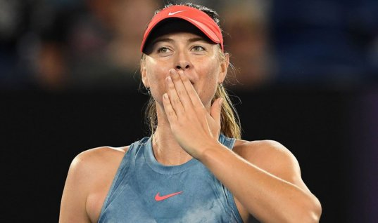 Букмекеры повысили шансы Марии Шараповой на победу на Открытом чемпионате Австралии по теннису