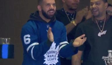 """Фанаты """"Торонто"""" обвинили Дрейка в поражении"""