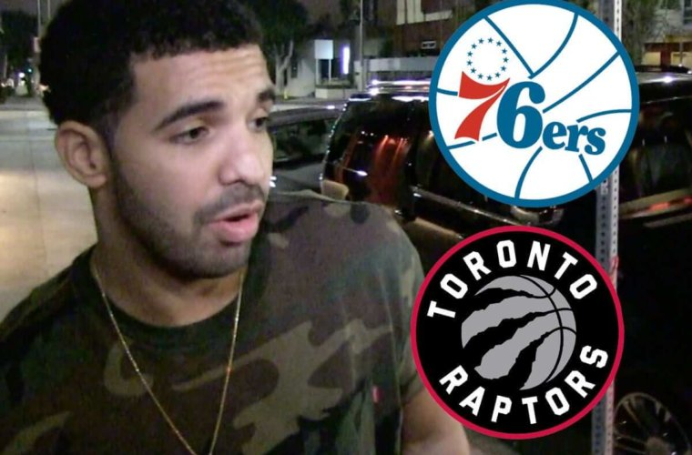 """Дрейк помог """"Торонто"""" с помощью проклятья """"Филадельфии"""""""