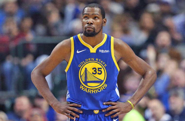 Прогноз букмекеров на новый клуб Кевина Дюранта в сезоне-2019/20 НБА