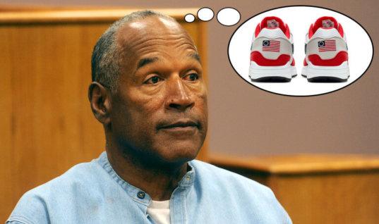 Симпсон поспорил с Каперником насчёт кроссовок и старого флага США