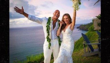 Дуэйн Джонсон наконец-то женился