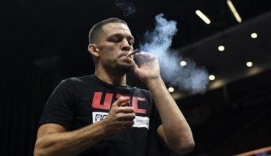 Боец UFC провёл тренировку с сигаретой с марихуаной