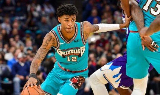 Букмекеры: Морант стал фаворитом на звание «Лучший новичок года» НБА