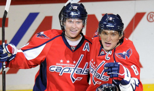 Овечкин назвал Бекстрёма самым сексуальным в НХЛ