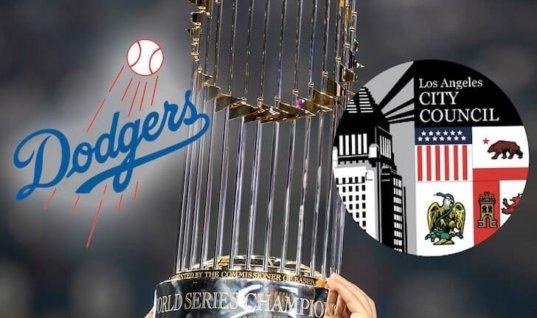 """Городской совет Лос-Анджелеса потребовал признать """"Доджерс"""" чемпионом МЛБ"""