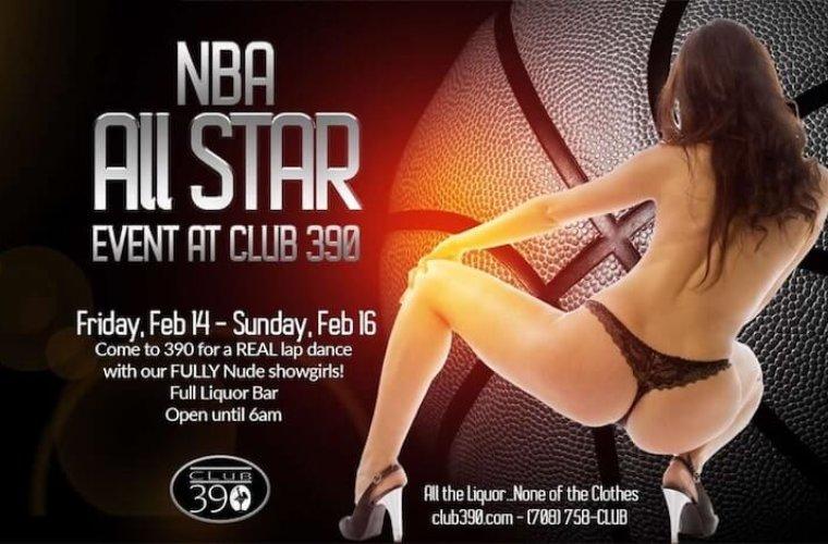 Матч всех звёзд НБА собрал 3000 стриптизёрш