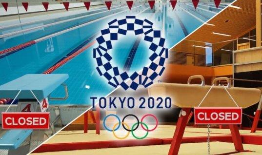 Гимнасты и пловцы из США прервали подготовку к Олимпиаде